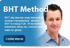 BHT Method - profesjonalne przeszczepy włosów