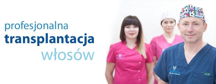 Transplantacje włosów Kraków