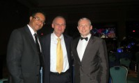 Od lewej dr Nurein dr Tsilosani dr Sandelewski